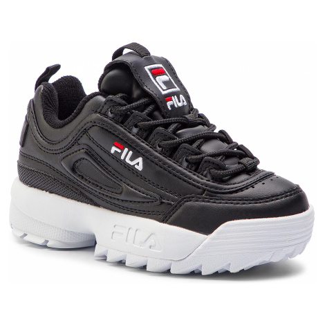 Sneakersy FILA - Disruptor Kids 1010567.25Y Black