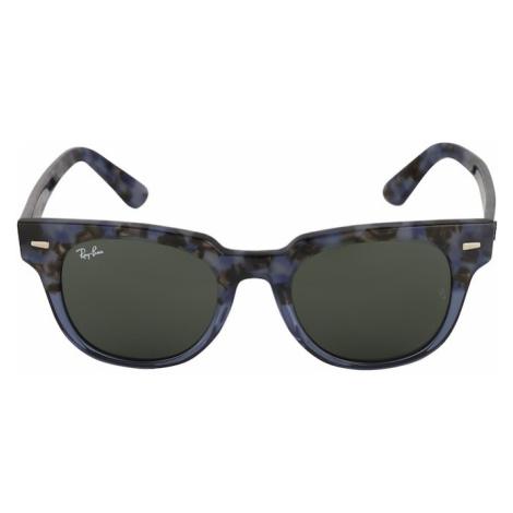 Ray-Ban Okulary przeciwsłoneczne 'METEOR' niebieski / szary