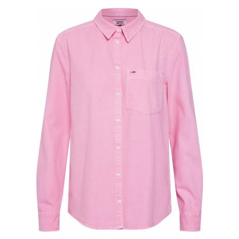 Tommy Jeans Bluzka różowy pudrowy Tommy Hilfiger
