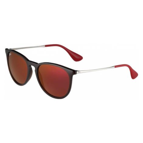 Ray-Ban Okulary przeciwsłoneczne 'Erika' brązowy / czerwony