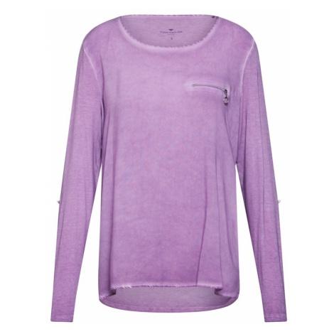 TOM TAILOR Koszulka fioletowy