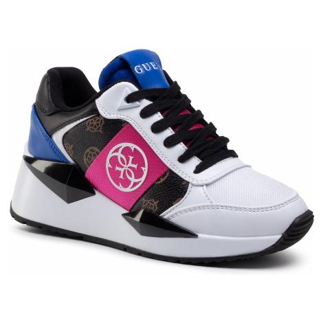 Sneakersy GUESS - Tesha FL5TES ELE12 BROWN
