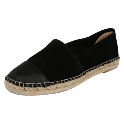 Espadrij L´originale Pantofle 'Classic Cap1' czarny