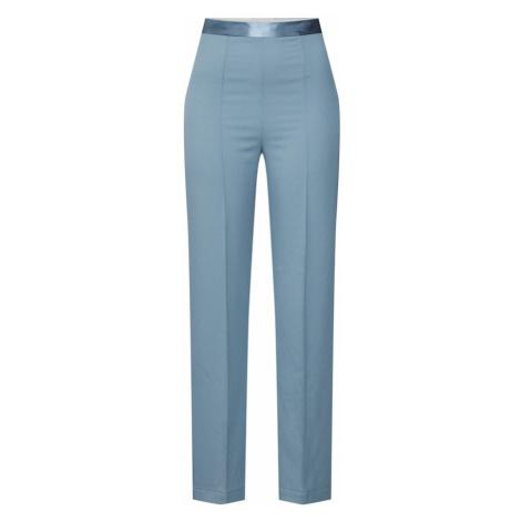 SOAKED IN LUXURY Spodnie 'SL Beatrix Pants' podpalany niebieski