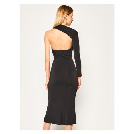 Babylon Sukienka wieczorowa MF6070 Czarny Regular Fit