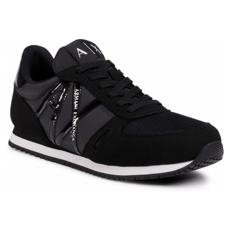 Sneakersy ARMANI EXCHANGE - XDX031 XCC62 00002 Black