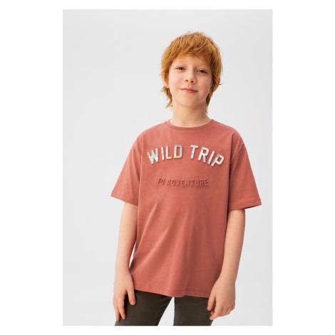 Mango Kids - T-shirt dziecięcy TRIP 110-152 cm