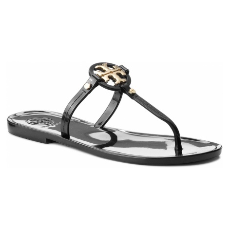 Japonki TORY BURCH - Mini Miller Flat Thong 51148678 Black 001