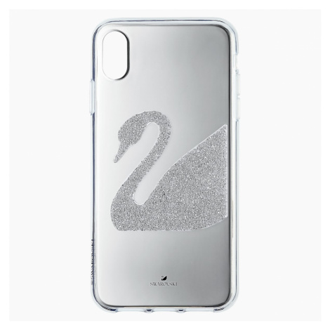 Etui na smartfona Swan, iPhone® XR, szare Swarovski