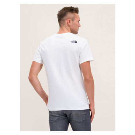 The North Face T-Shirt Simple Dome NF0A2TX5FN4 Biały Regular Fit