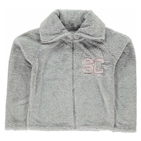 SoulCal Zip Snug Jackets Junior Girls Soulcal & Co