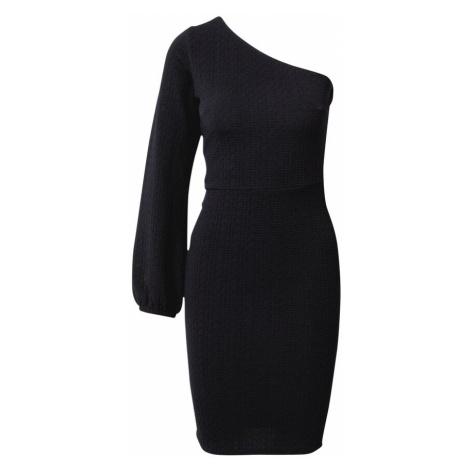 SISTERS POINT Sukienka koktajlowa 'CAPE' czarny