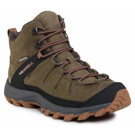 Trekkingi MERRELL - Ontonagon Peak Mid Wp J035249 Olive