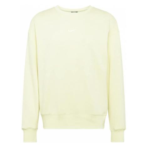 Nike Sportswear Bluzka sportowa jasnożółty