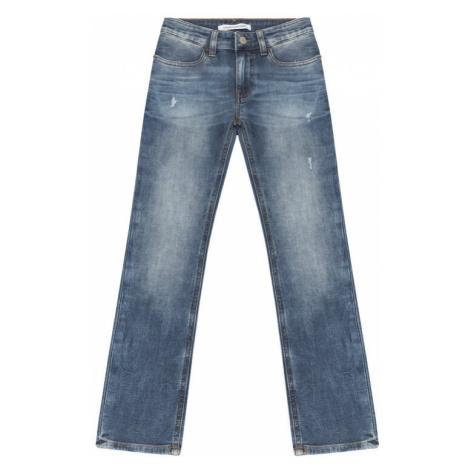 Calvin Klein Jeans Jeansy IB0IB00160 Granatowy Skinny Fit