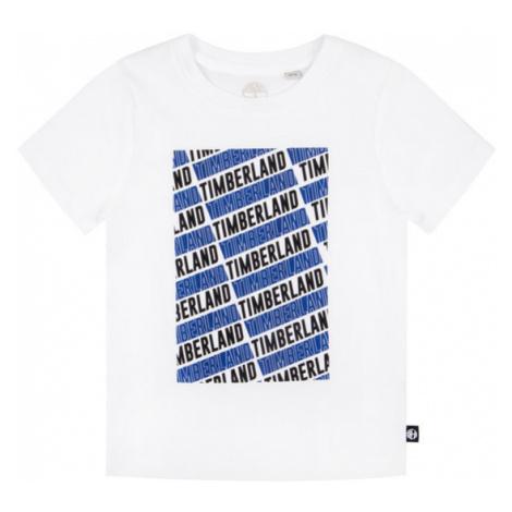 Timberland T-Shirt T45805 Biały Regular Fit