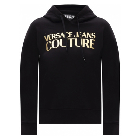 Logo-printed hoodie Versace