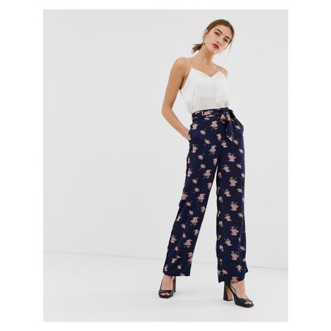 Y.A.S floral wide leg trousers