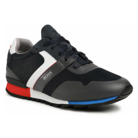Boss Sneakersy Parkour 50412232 10218881 01 Granatowy Hugo Boss