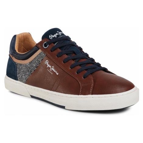 Sneakersy PEPE JEANS - Rodney Basic PMS30696 Tan 869
