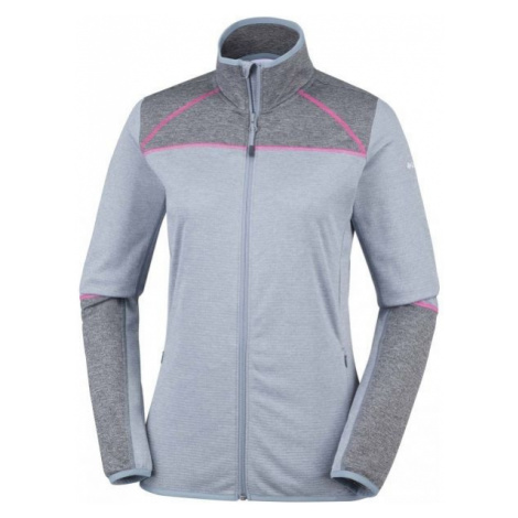 Columbia BAKER VALLEY FULL ZIP FLEECE szary S - Bluza polarowa damska
