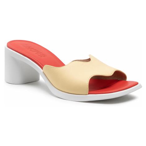 Klapki CAMPER - Meda Sandal K201167-001 Yellow