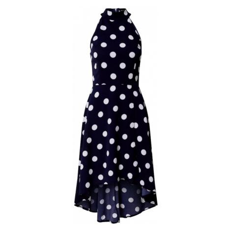 Mela London Sukienka 'Polka Dot' granatowy / biały