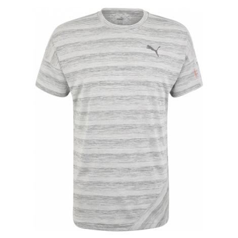 PUMA Koszulka funkcyjna 'PACE S/S Tee' szary / szaro-beżowy