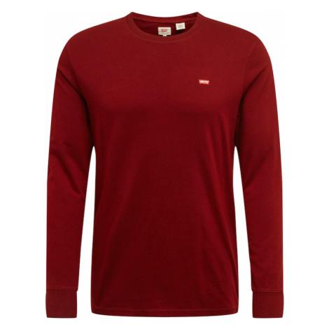 LEVI'S Koszulka czerwone wino Levi´s