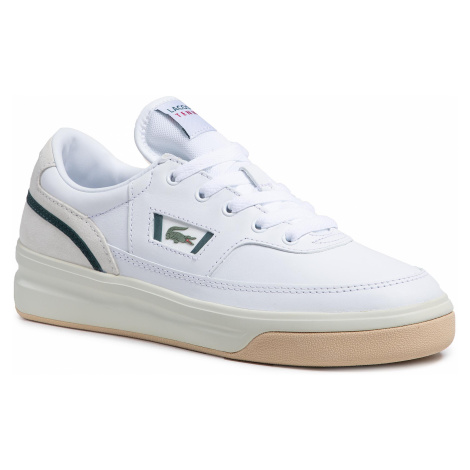 Sneakersy LACOSTE - G80 0721 1 Sma 7-41SMA00101R5 Wht/Dk Grn