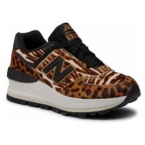 Sneakersy NEW BALANCE - WL574CZB Brązowy