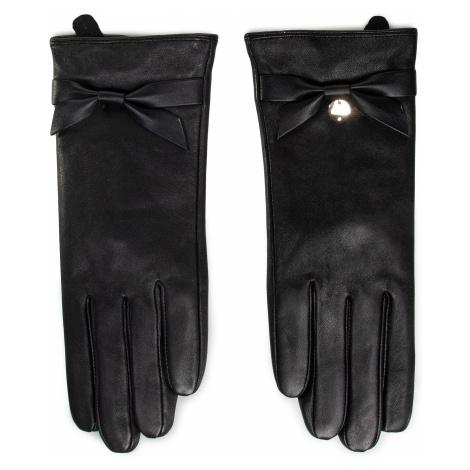 Rękawiczki Damskie LIU JO - Guanto Con Fiocco 2F0090 P0300 Nero 22222