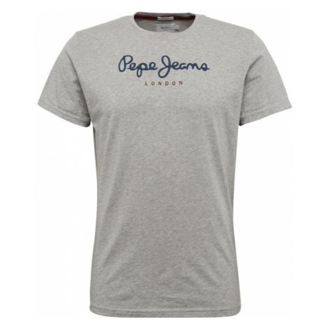 Pepe Jeans Koszulka 'EGGO' ciemny niebieski / szary