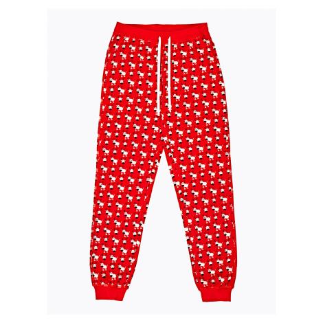 GATE Spodnie od piżamy z nadrukiem