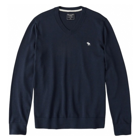 Abercrombie & Fitch Sweter granatowy