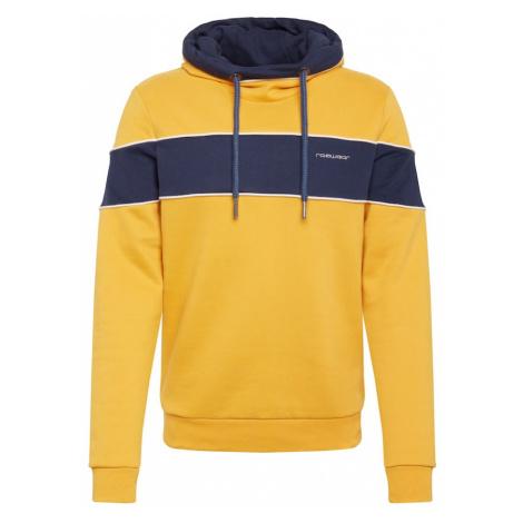 Ragwear Bluzka sportowa 'PEACEY' niebieska noc / żółty