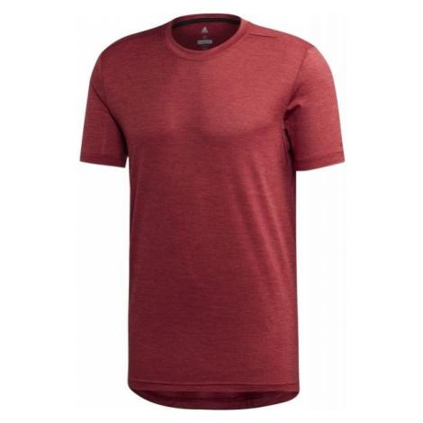 adidas TERREX TIVID TEE czerwony 48 - Koszulka męska