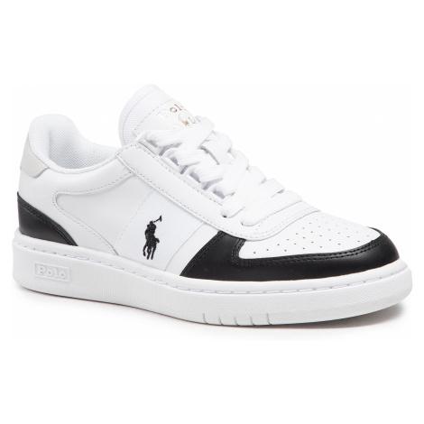 Sneakersy POLO RALPH LAUREN - Polo Crt Pp 809834778001 White Mu