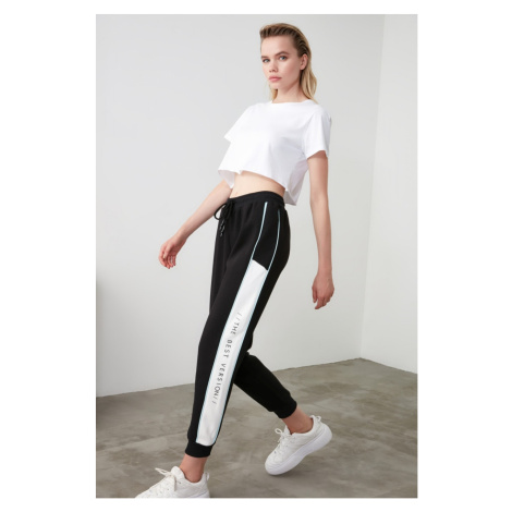 Women's sweatpants Trendyol Color Block