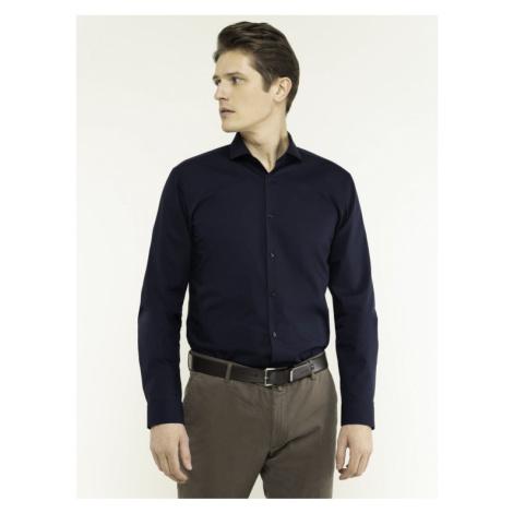 Hugo Koszula Erriko 50377874 Granatowy Extra Slim Fit Hugo Boss