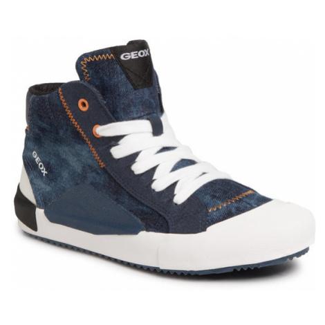 Geox Sneakersy J Alonisso B. C J022CC 013AF C0057 S Granatowy
