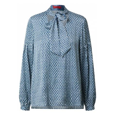HUGO Bluzka 'Cisoni' biały / podpalany niebieski Hugo Boss