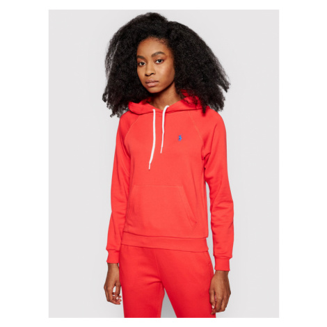 Polo Ralph Lauren Bluza Lsl 211790473012 Czerwony Regular Fit