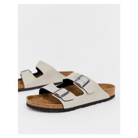 Birkenstock Vegan Arizona sandals in stone