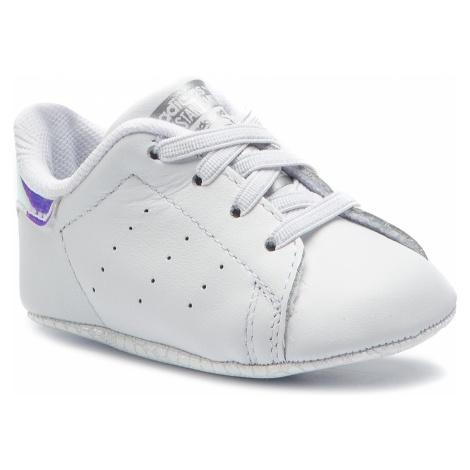 Buty adidas - Stan Smith Crib CG6543 Ftwwht/Ftwwht/Silvmt