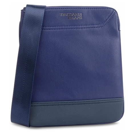 Saszetka TRUSSARDI JEANS - Business Affair 71B00117 Blue Navy/Bluette