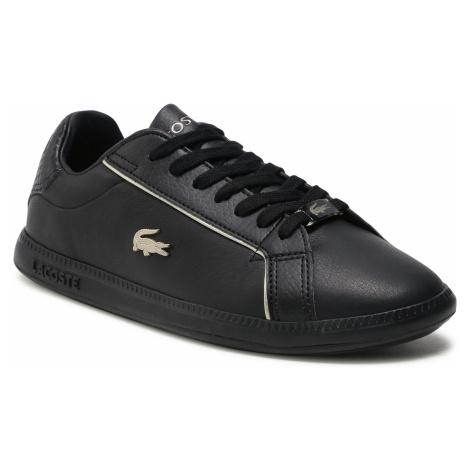 Sneakersy LACOSTE - Graduate 0721 1 Sfa 7-41SFA007702H Blk/Blk