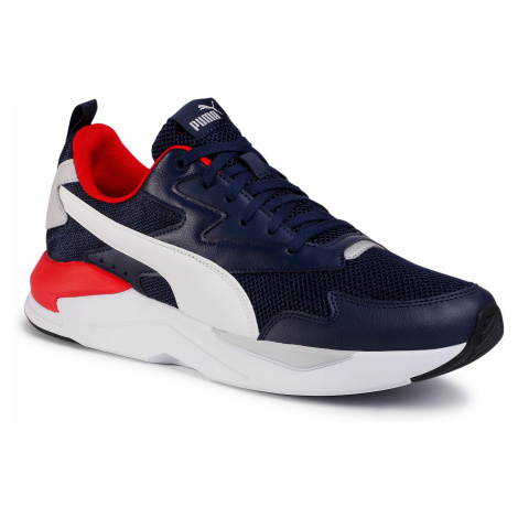 Sneakersy PUMA - X-Ray Lite 374122 08 Peacoat/White/High Ris Red