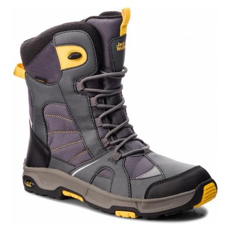 Śniegowce JACK WOLFSKIN - Boys Snow Ride Texapore 4012042 Burly Yellow Xt D