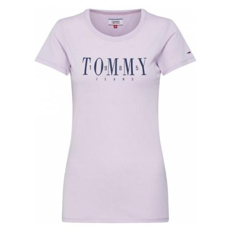 Tommy Jeans Koszulka 'TJW CASUAL TOMMY TEE' liliowy Tommy Hilfiger